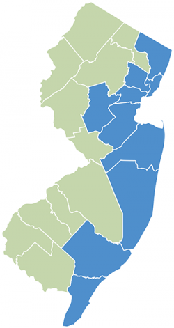 HQSI NJ County Map